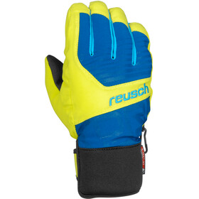 Reusch Torbenius R-TEX XT Gloves Junior imperial blue/neon yellow
